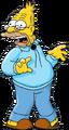 Abraham Simpson - shading