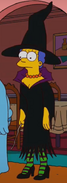 Marge as a witch