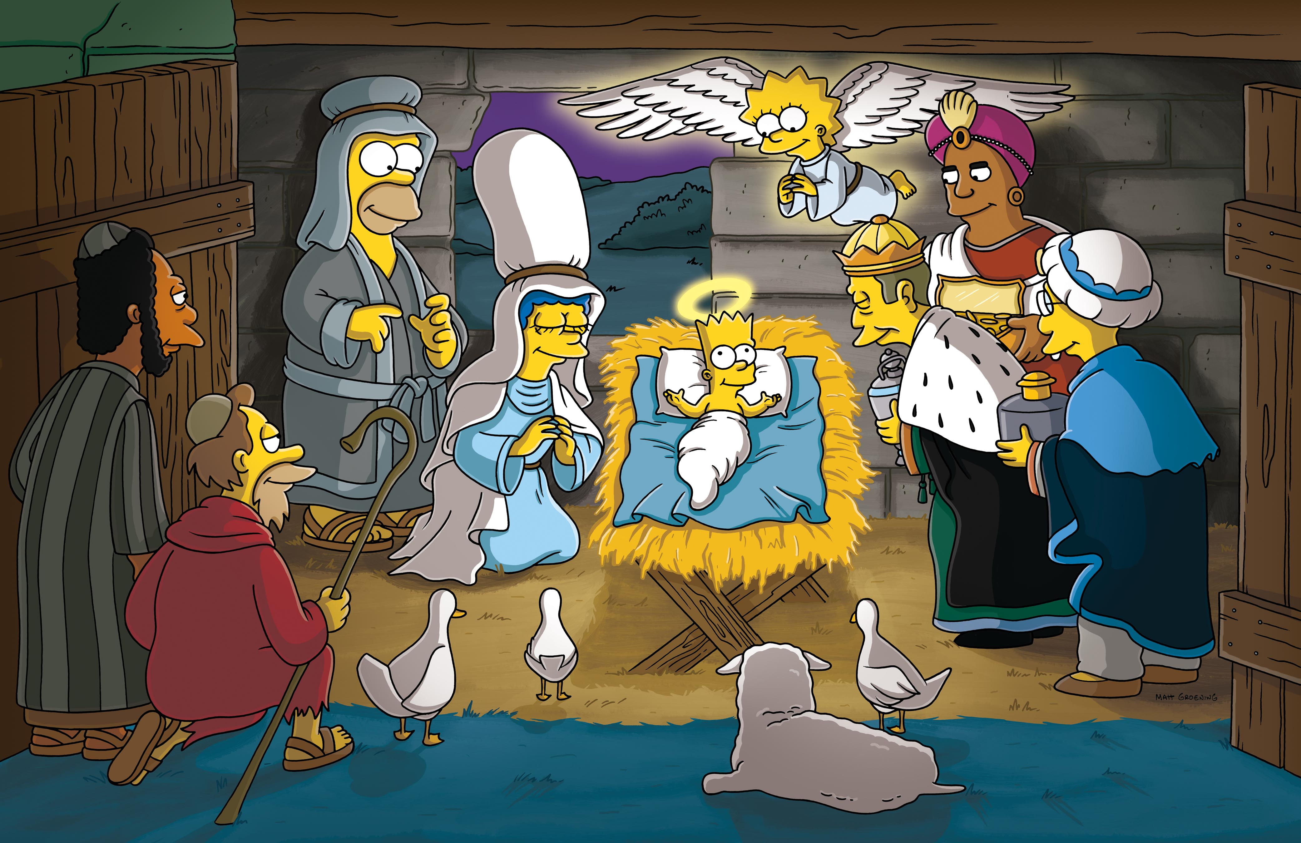 Simpsons Christmas Stories