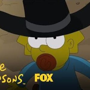 Gunsmoke Opening Parody THE SIMPSONS
