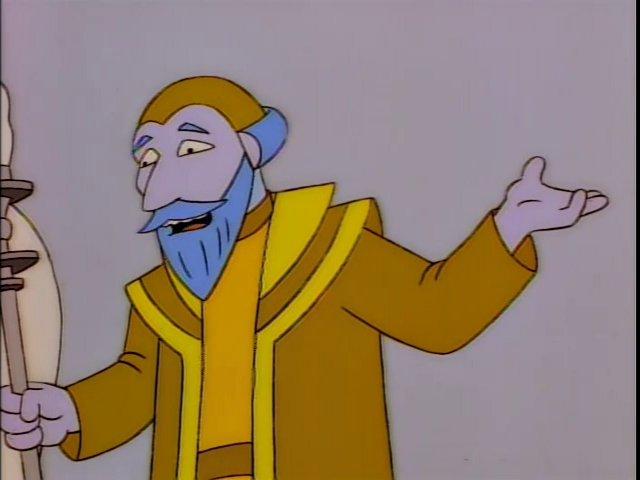 Religious Leader (Lisa's World)