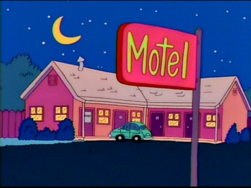 Motel (Itchy & Scratchy)