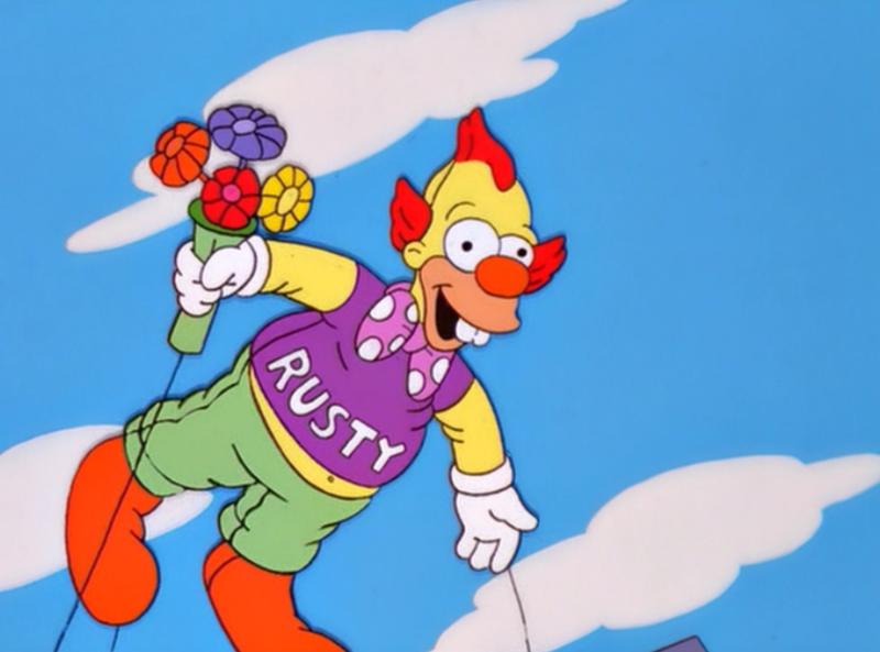Rusty The Clown