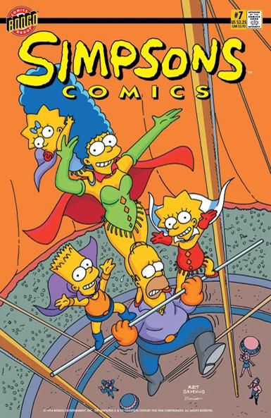 Simpsons Comics 7