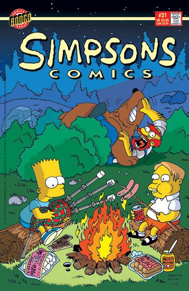 Simpsons Comics 21
