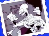 Homer Strangles Bart (or Someone)