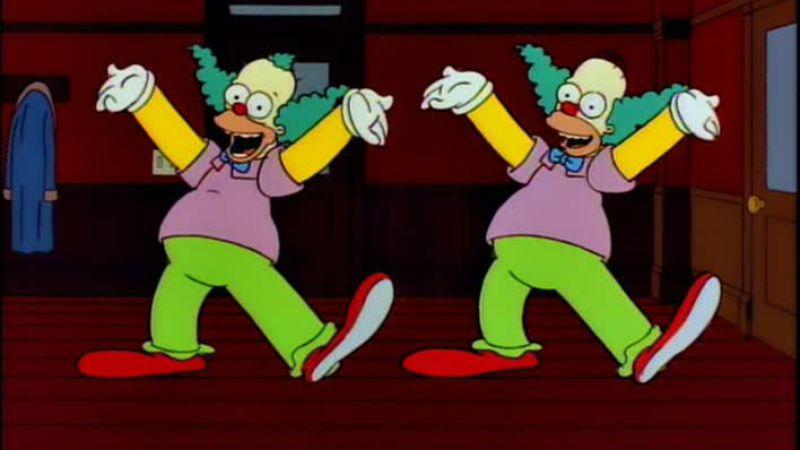 Homer le clown