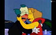 Hugging Krusty