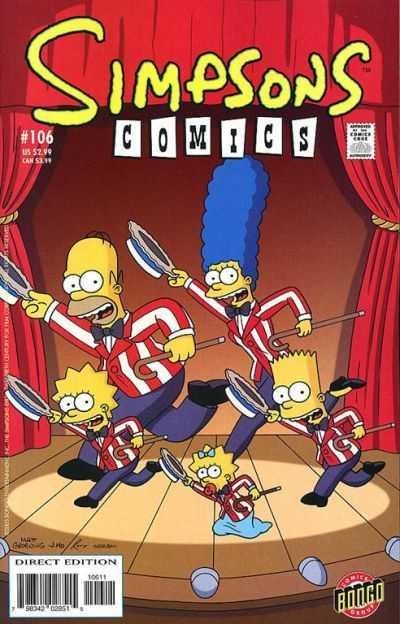Simpsons Comics 106