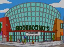 Bookaccino's livraria lisa