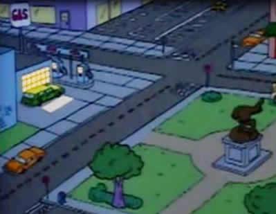 Posto de Gasolina da Praça Central