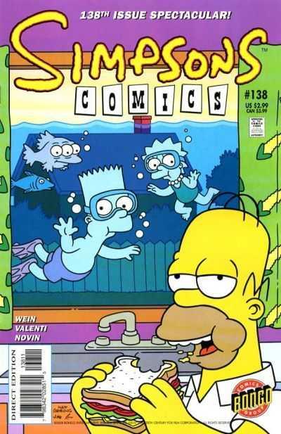 Simpsons Comics 138
