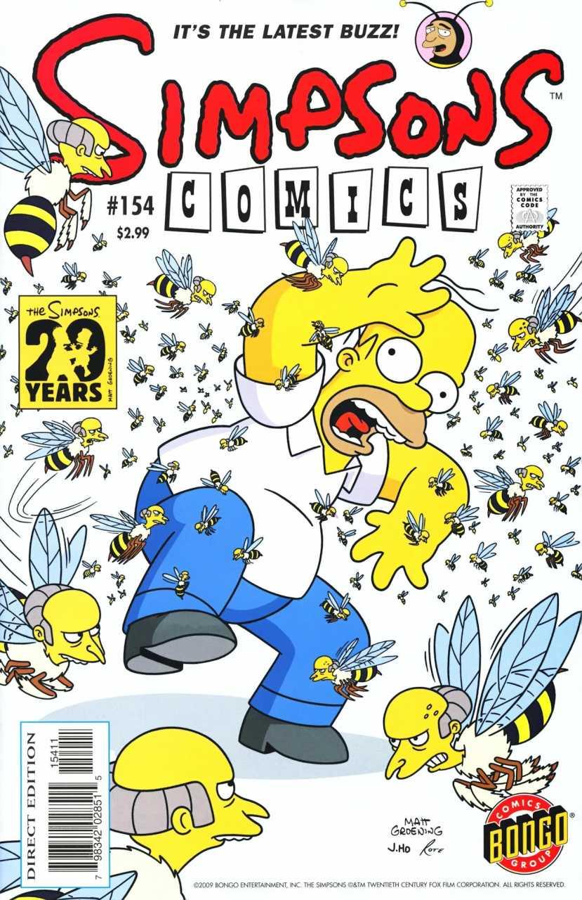 Simpsons Comics 154