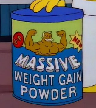 Massive Weight Gain Powder