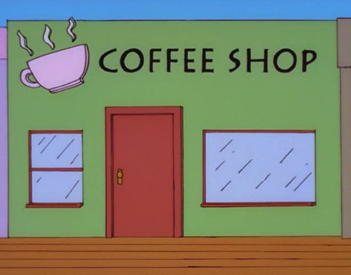 Coffee Shop (New Kids on the Blecch)