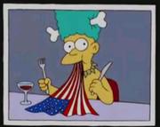 Mel Comendo a Bandeira.png