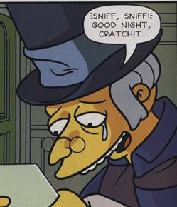 Burnseneezer Scrooge