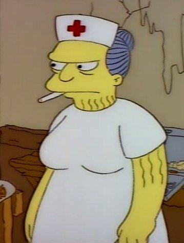 Kamp Krusty Nurse