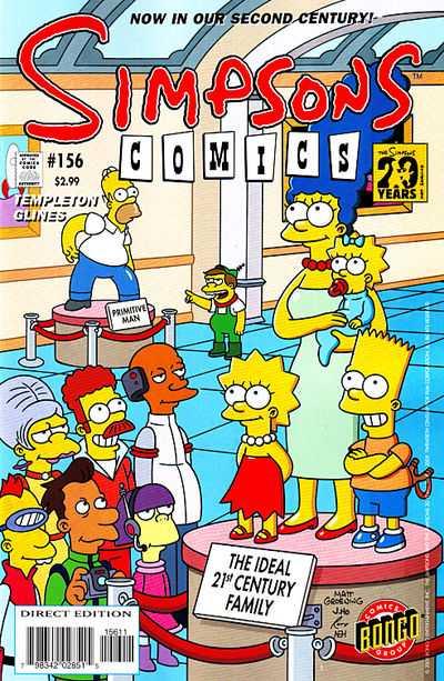 Simpsons Comics 156