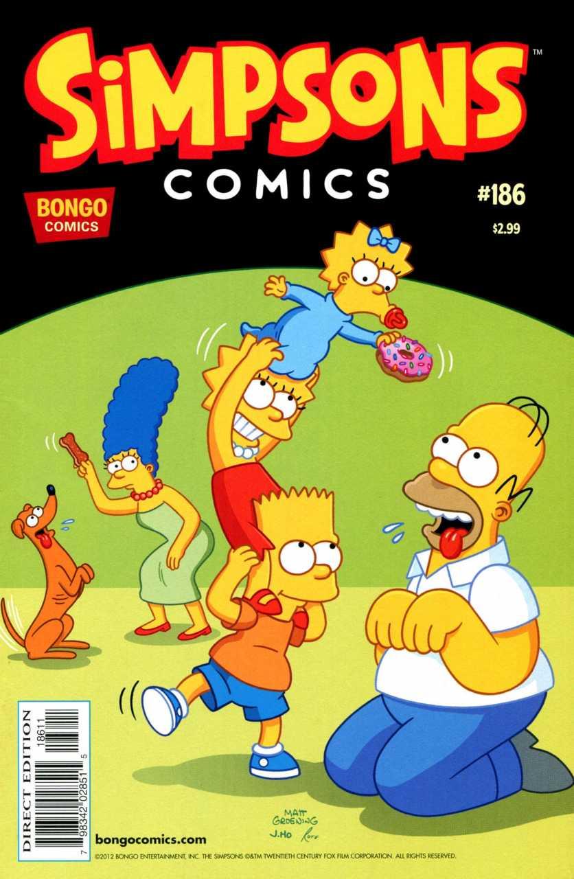 Simpsons Comics 186