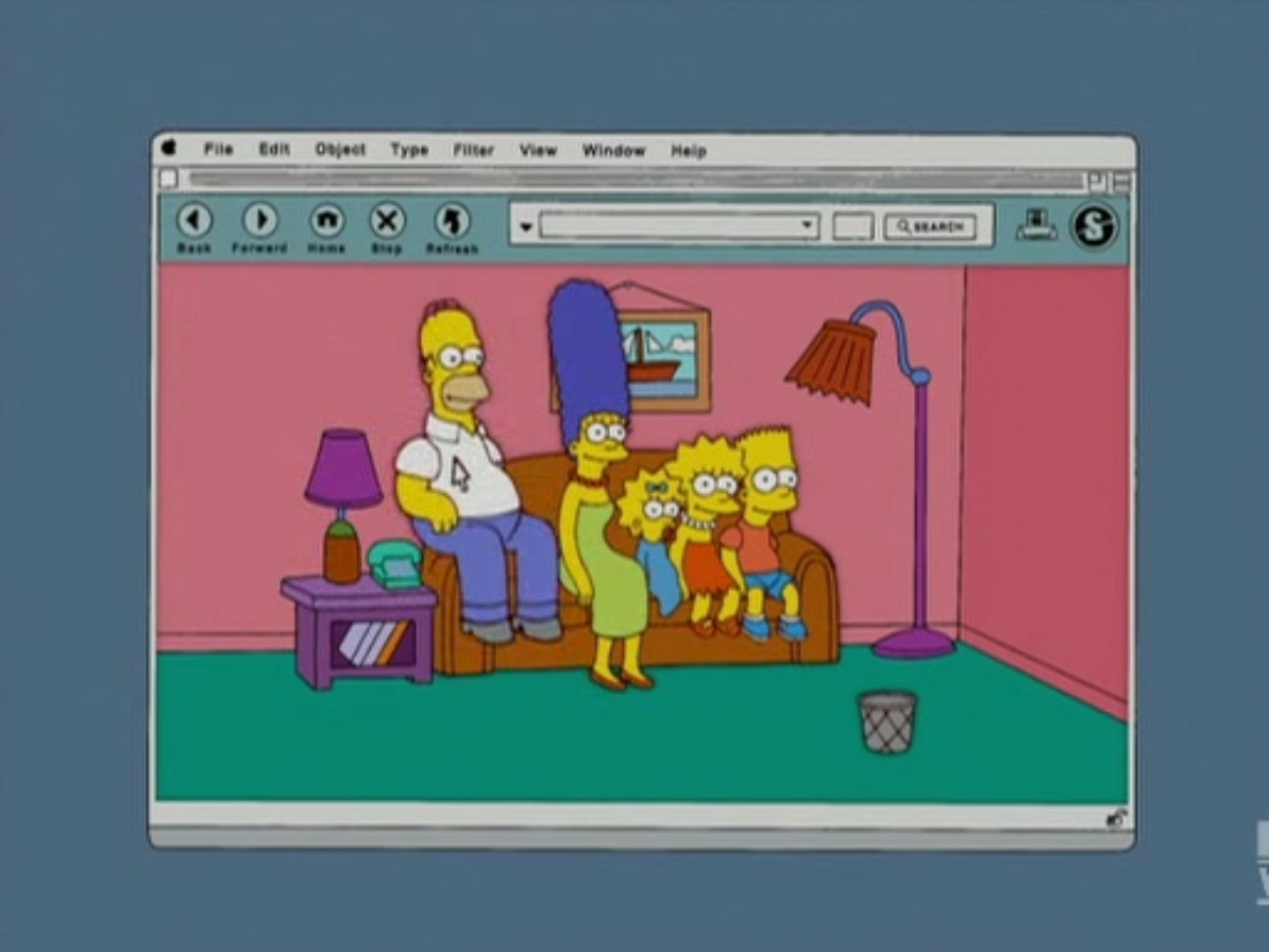 Drag & Drop couch gag