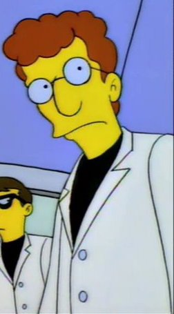Itchy & Scratchy Land Scientist 1