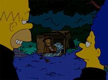 Simpsons sexo carro placa mendigo