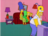 Static Bart couch gag