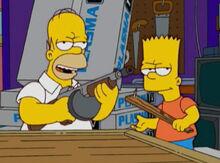 Homer bart perigosos