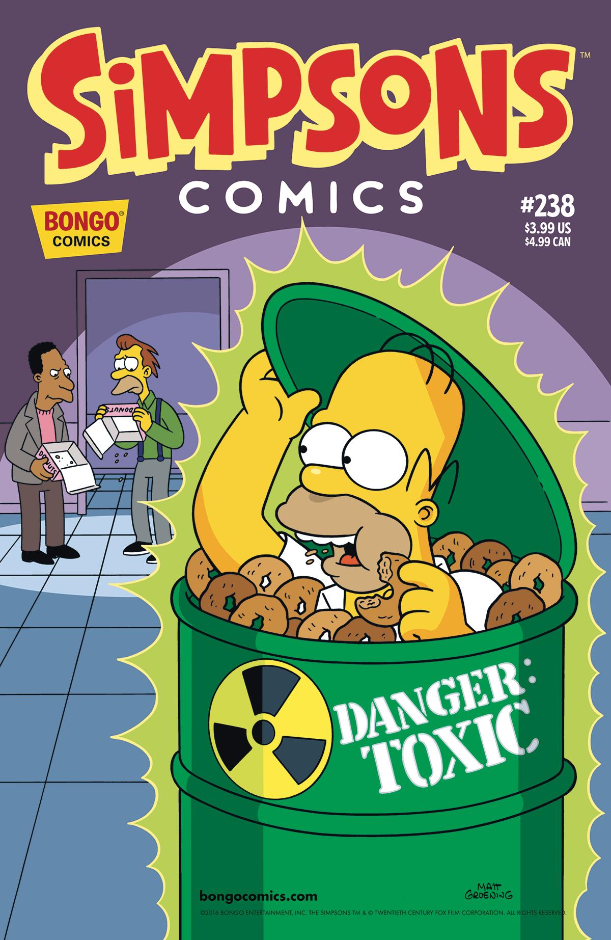 Simpsons Comics 238