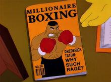 Drederick tatum revista millionaire box