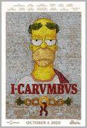 I Carumbus Poster Homer