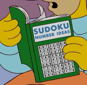 Sudoku Number Ideas
