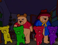 The simpsons The Fat and the Furriest gummy bears