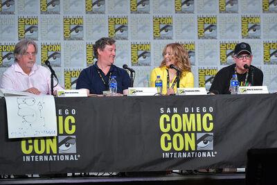 Al Jean Mike B Anderson speak 2019 Comic Con.jpg
