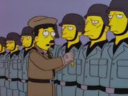 Adolf Hitler Raging Abe Simpson and His Grumbling Grandson in The Curse of the Flying Hellfish
