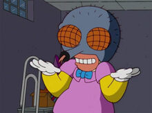 Krusty desperate houseflies