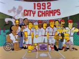 Springfield Nuclear Power Plant softball team