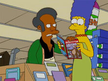 Apu cobra revista inquisitor marge