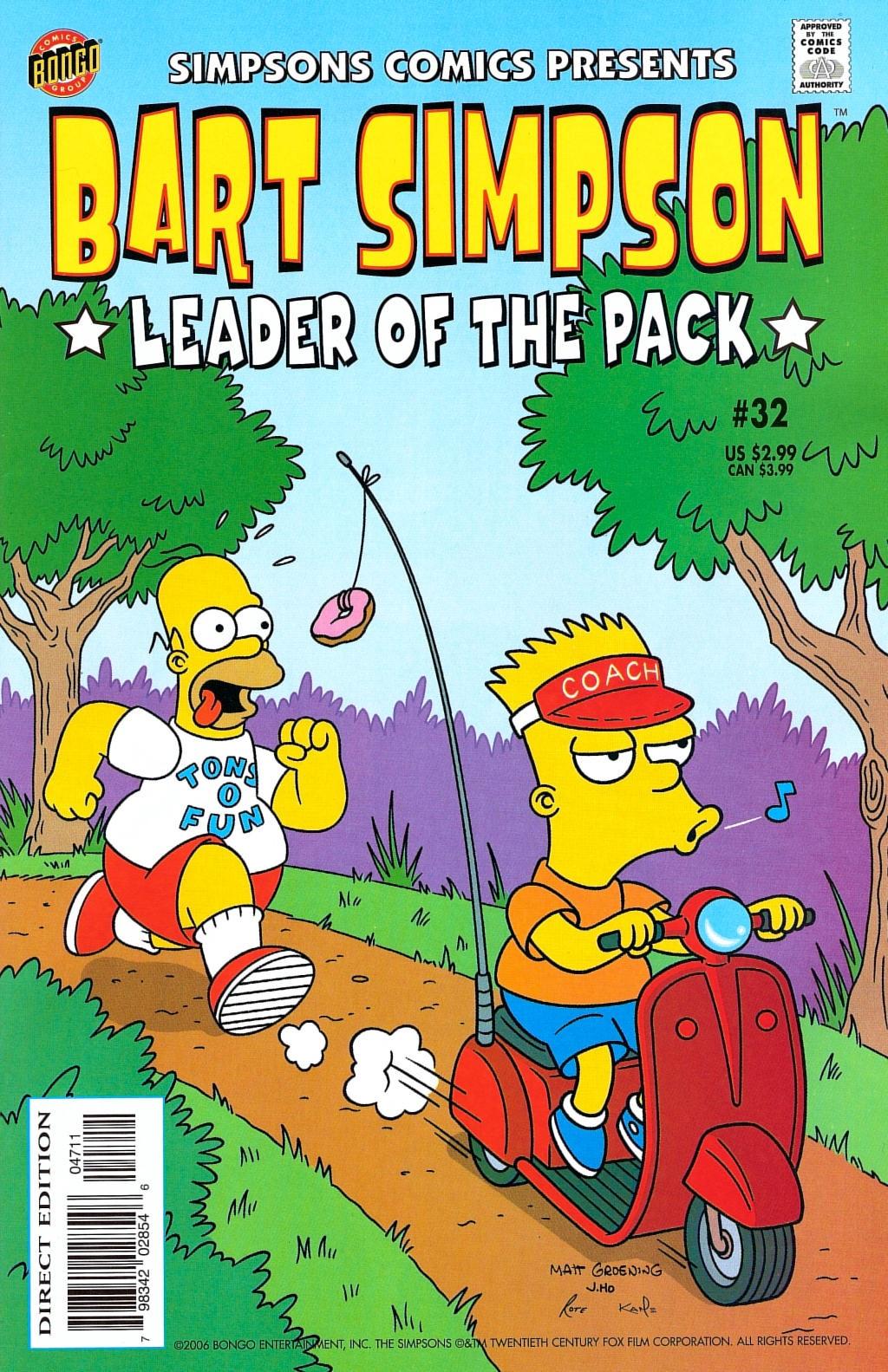 Bart Simpson Comics 32