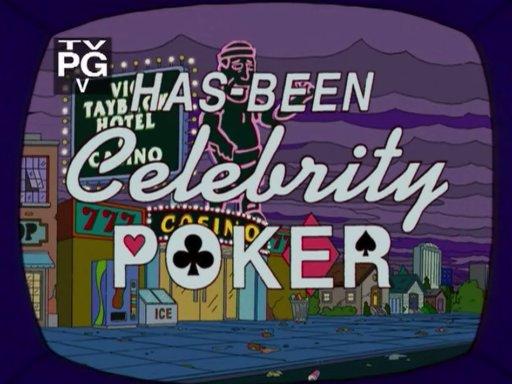 Has-Been Celebrity Poker