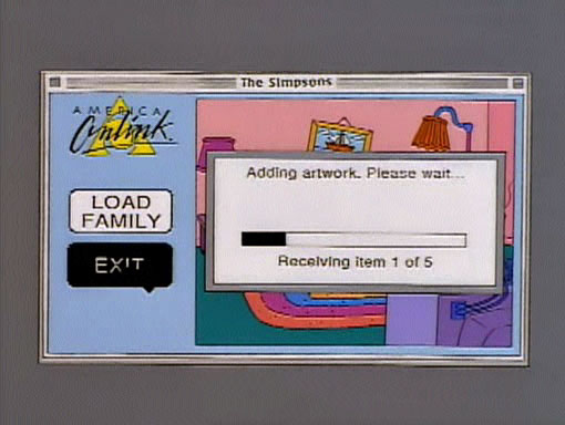 Loading Screen couch gag