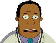 Doctor Julius Hibbert in The Simpsons Movie