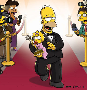 Homer red carpet emmy.jpg