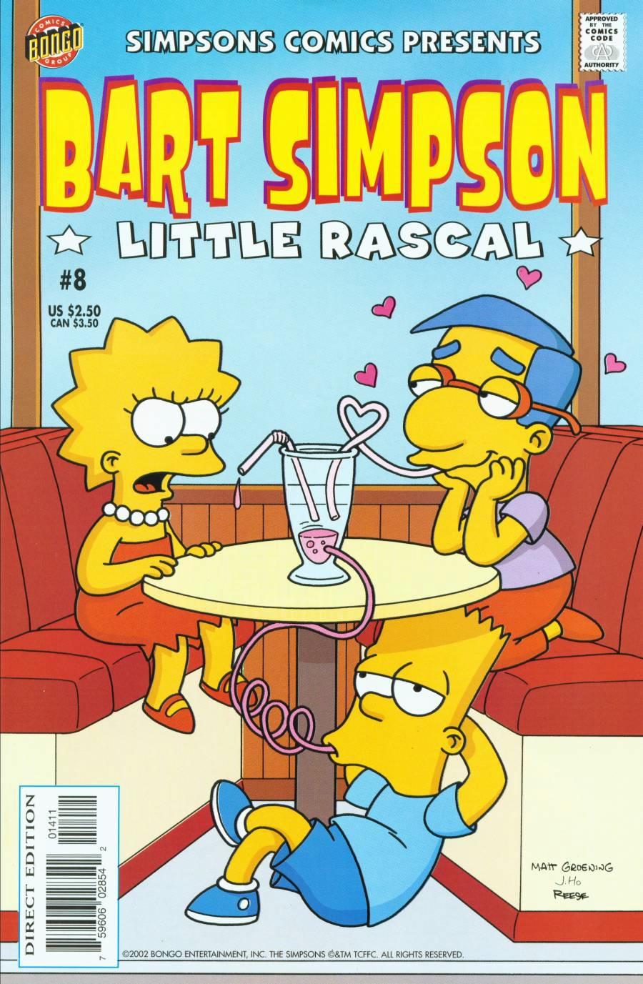 Bart Simpson Comics 8