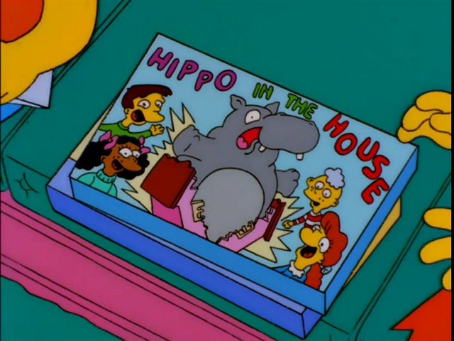 Hippo in the House