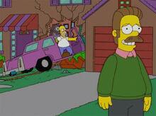 Homer 40 ned acidente casa