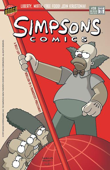 Simpsons Comics 28