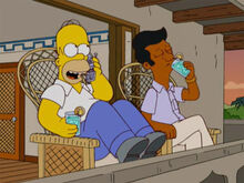 Homer kavi drinks sacada
