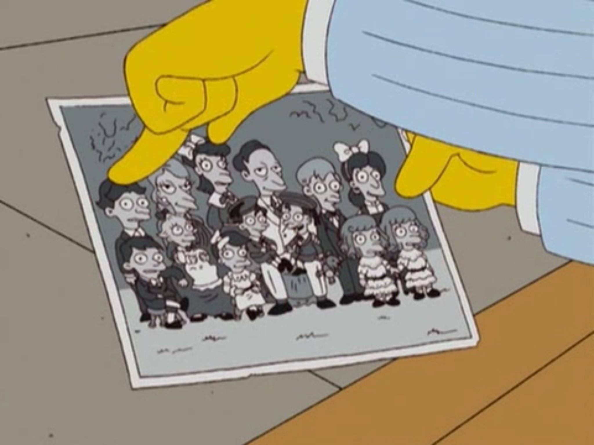Mr. Burns' older siblings